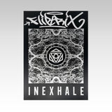 Fliptrix - Inexhale - Limited Edition Print (Black / Silver)