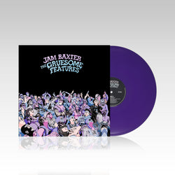 "Jam Baxter - The Gruesome Features (LIMITED EDITION 2 x 12"" COLOUR VINYL)"