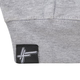 High Focus - Grey Zipper Hoodie