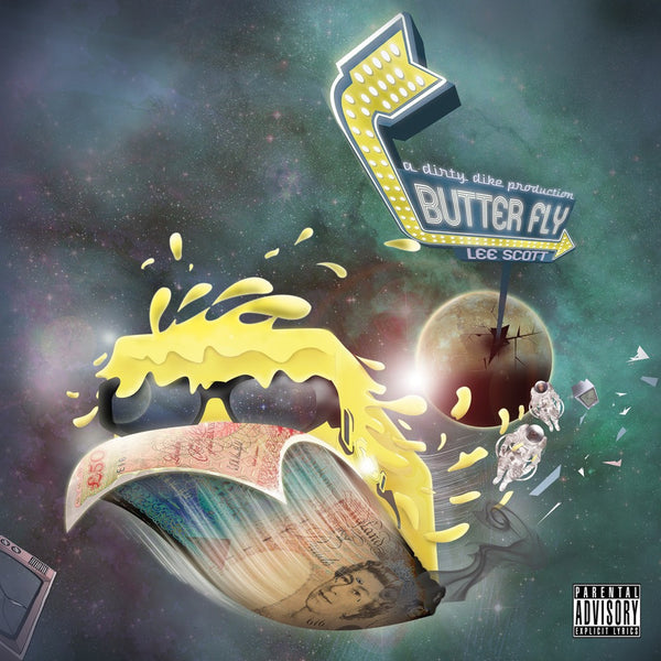 Lee Scott - Butter Fly (Prod. Dirty Dike) (CD)