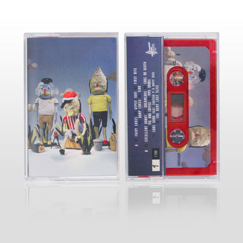 Jam Baxter & Ed Scissor - Laminated Cakes (LIMITED EDITION TAPE)