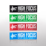 High Focus - 4 Part Metal Herb Grinder - Deluxe Pack
