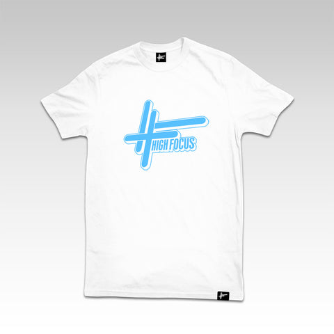 High Focus White T-Shirt