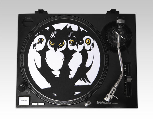 The Four Owls - Crew Logo Slipmats (Pair)