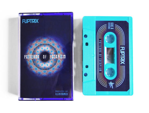Fliptrix - Patterns Of Escapism (LIMITED EDITION TAPE)