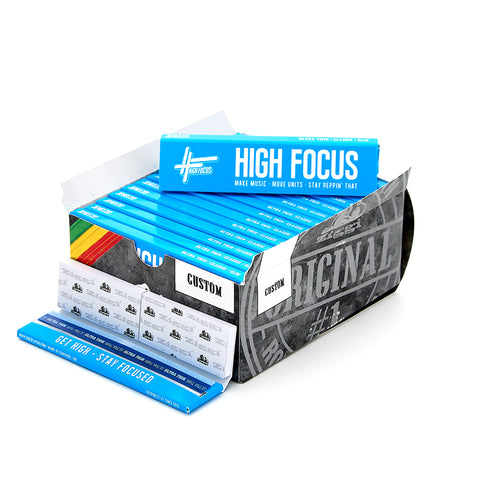 High Focus Rolling Papers - Box (28 Packs)