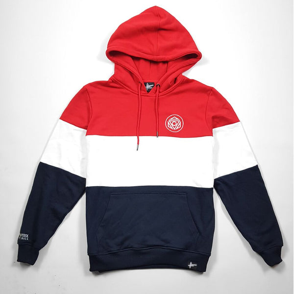 Fliptrix - Inexhale - Red // White // Blue Hoodie (LIMITED EDITION)