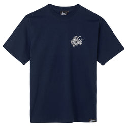 High Focus - Script T Shirt // Navy