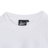 High Focus - Leaf Logo T Shirt // White