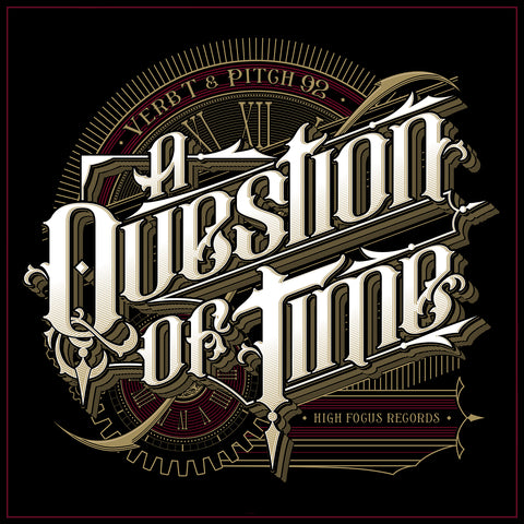 Verb T & Pitch 92 - A Question Of Time (CD PRE ORDER)