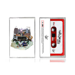 Verbz & Mr Slipz - Radio Waves (LIMITED EDITION TAPE PRE ORDER)