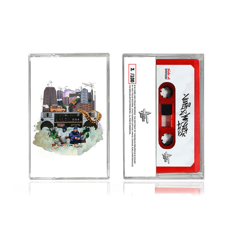 Verbz & Mr Slipz - Radio Waves (LIMITED EDITION TAPE)