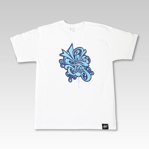 High Focus - White Calligraphunk T Shirt