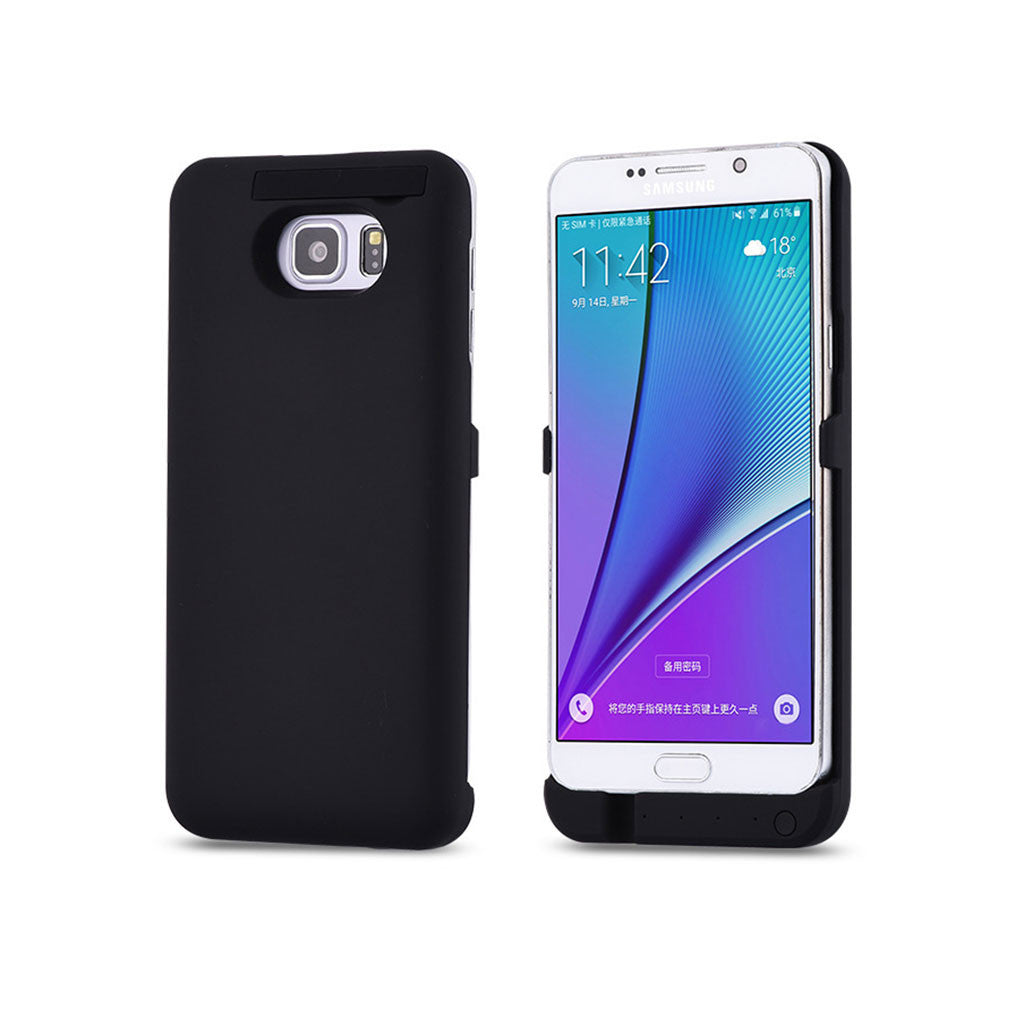 new arrival 6bd03 73cbf Samsung Galaxy S6 Edge Plus 4800mAh Power Case External Battery Power Bank  Case with Kickstand and LED Status Indicator Light