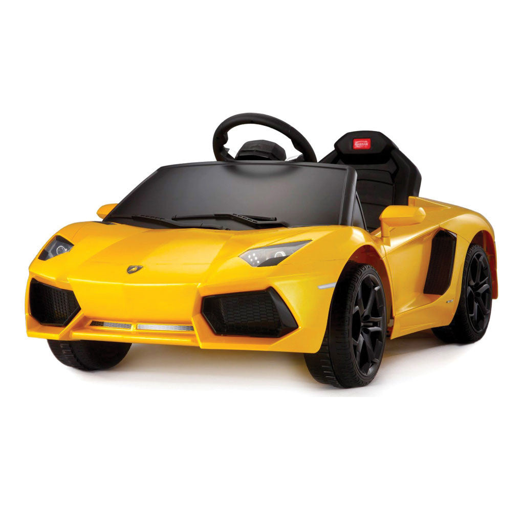 Techhype Kids Ride On Toy Car Lamborghini With Parental Remote