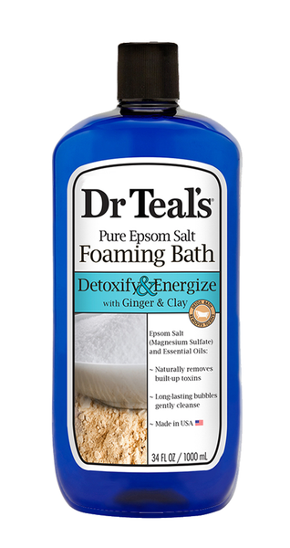 Ginger & Clay Foaming Bath - Dr Teals