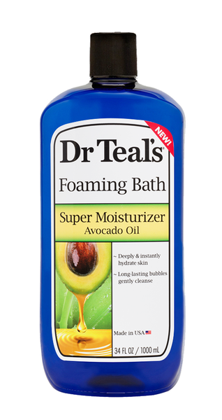 Avocado Mineral Oil Foaming Bath - Dr Teals