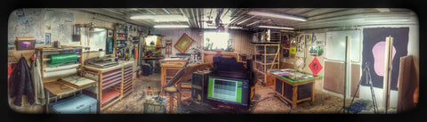 The studio in Madison, WI.