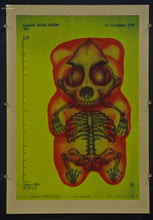 Confections of a Dangerous Mind - Gummy Bear Color X-ray Test Prints