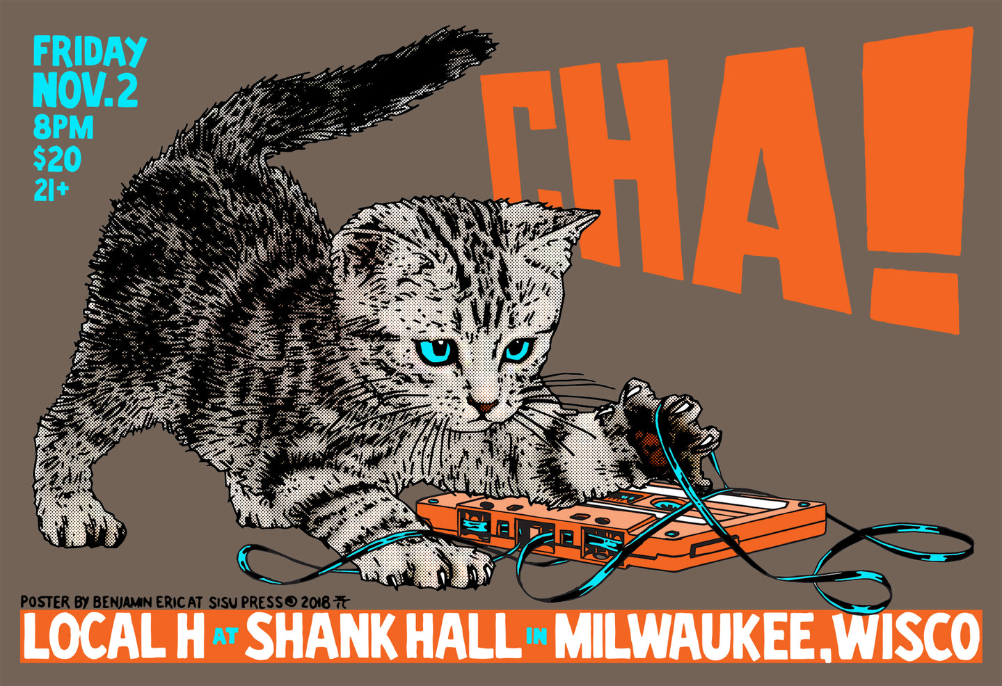 Local H at Shank Hall 2018