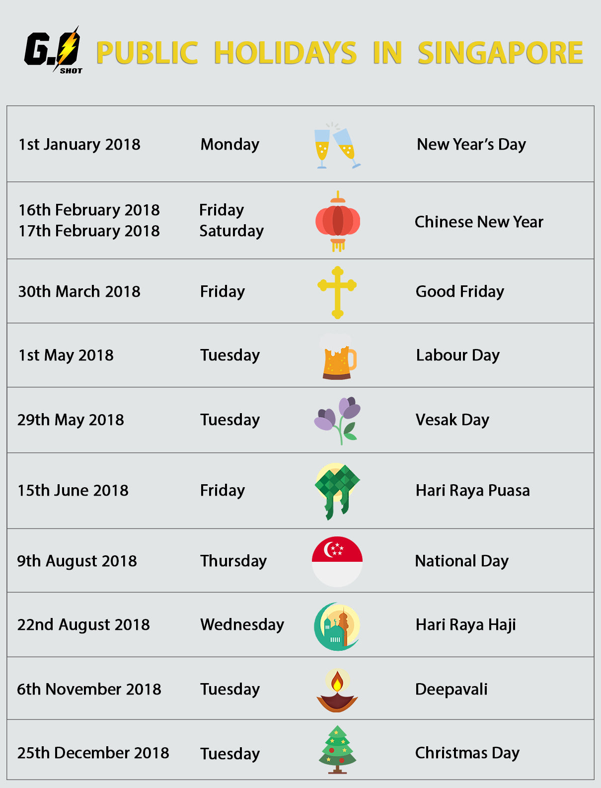 Year Calendar Sia : Is november holiday in singapore lifehacked st