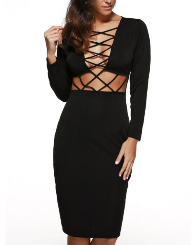 Caged Dress