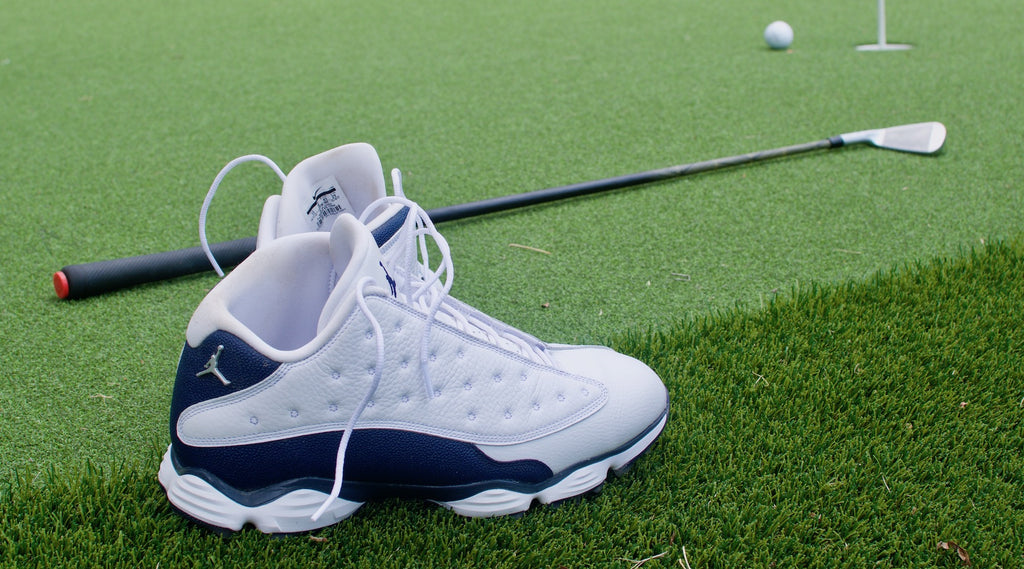 110d99b15 The Grip Life Golf Blog Reviews the Air Jordan XIII Nike Golf Shoes -  BestGrips.com