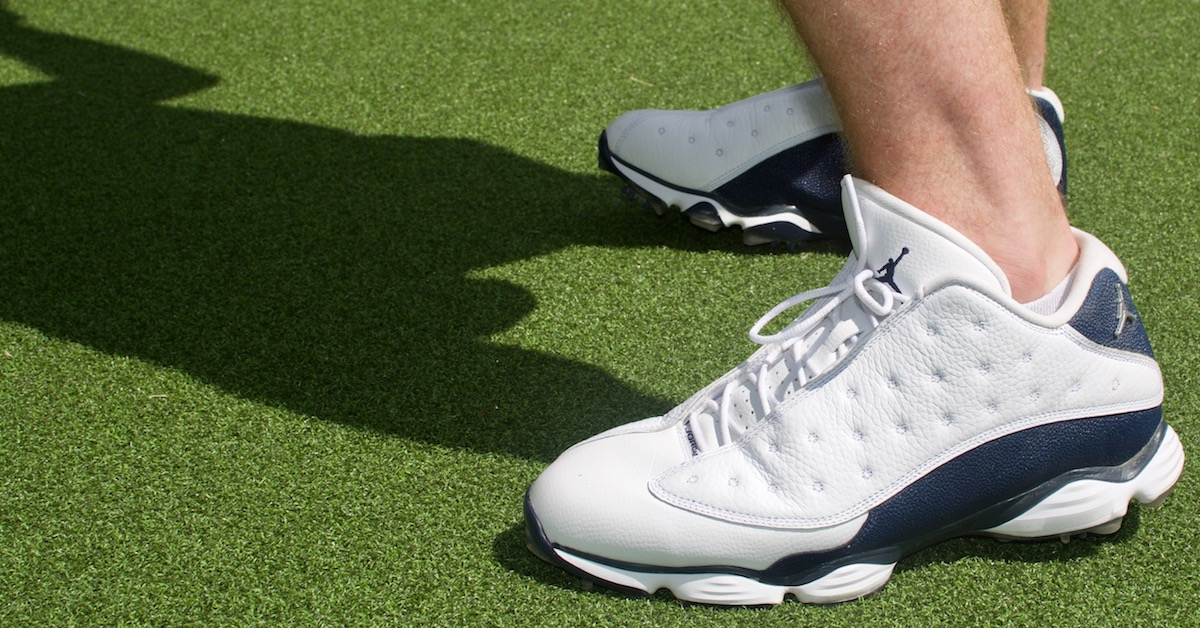 686e0f0edb29 ... Air Jordan 13 Nike Golf Shoe Review ...