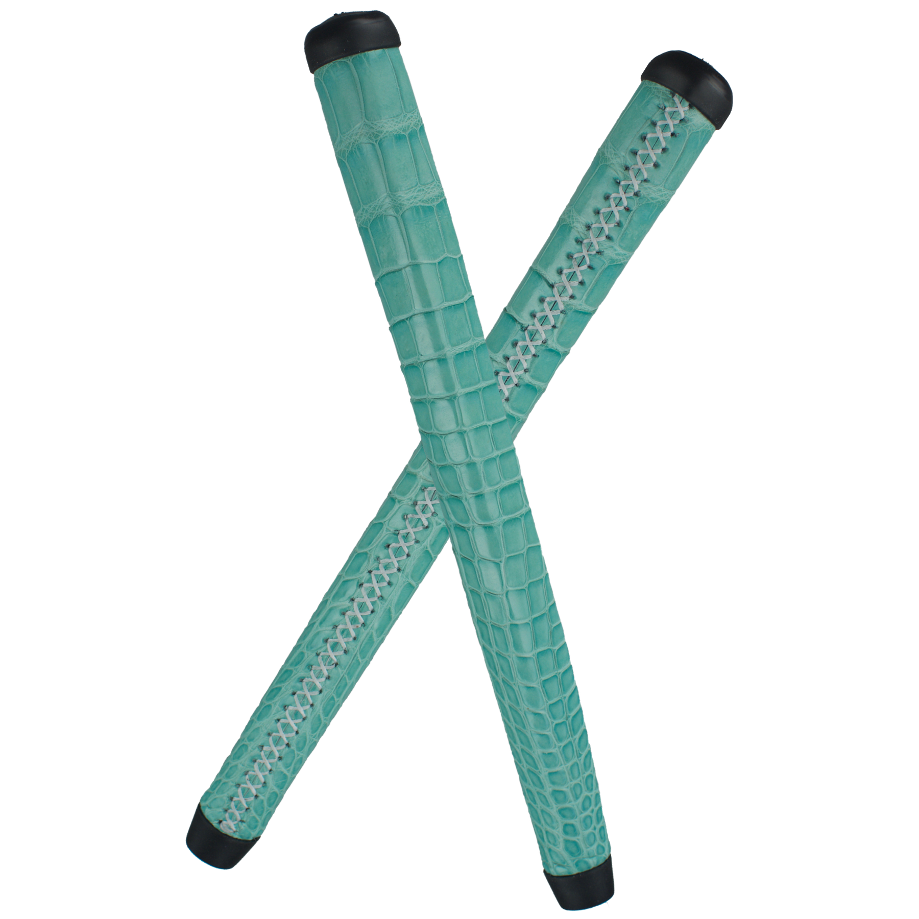 Robin Egg Blue Genuine Alligator Putter Grip
