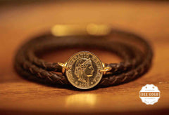 10 cents Hong Kong coin Bracelets