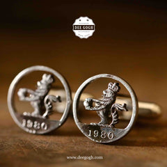 Cufflinks with the English Lions
