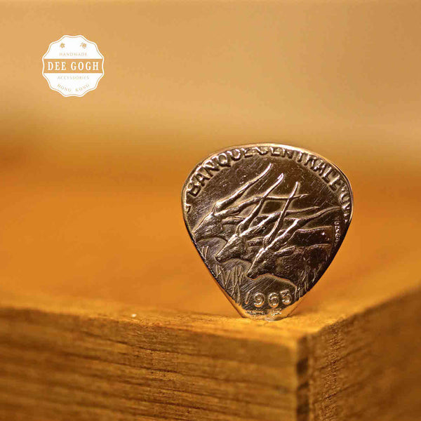 Guitar Pick with other Coins