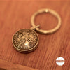 Double Sided Keyring with Hong Kong Coins