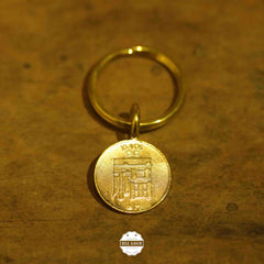 Keyring with Macau Old Coins (福、祿、壽)
