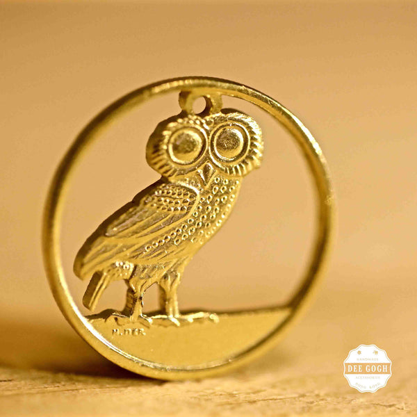 Custom Coin Cut Pendant - Animals