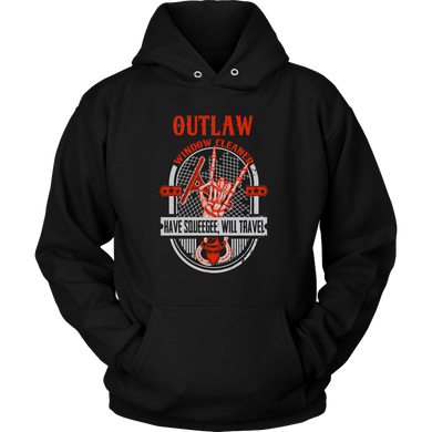Outlaw Window Cleaner Devil Horns Hoodie