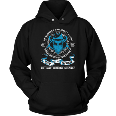 Outlaw Window Cleaner Doctrine In Squeegeeology Hoodie