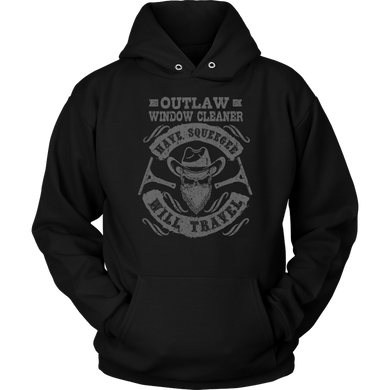 Outlaw Window Cleaner Original Logo Hoodie