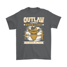 "Outlaw Window Cleaner ""Bad Moon Rising"" T-Shirt"