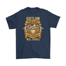 "Outlaw Window Cleaner ""Have Squeegee, Will Travel"" T-Shirt"