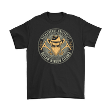 "Outlaw Window Cleaner 'Huckleberry University"" T-Shirt"