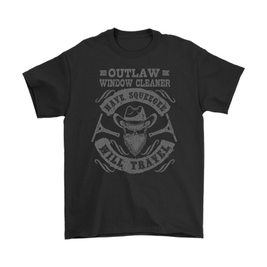 Original Outlaw Window Cleaner T Shirt