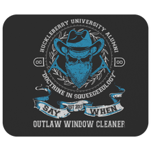 Outlaw Window Cleaner Mouse Pads