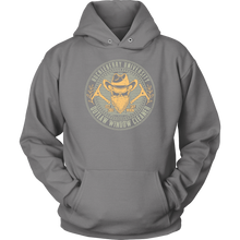 "Outlaw Window Cleaner 'Huckleberry University"" Hoodie"