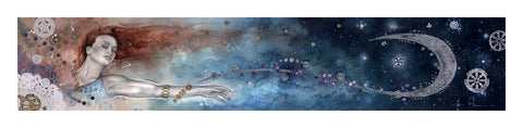 Deluxe Coalescence™ (the stars) signed giclee on Archival paper - Chakra Art and Design LLC