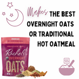 Rachel's Cinnamon Raisin Organic Gluten Free (Overnight) Oatmeal Mix (8 oz)