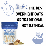RACHEL'S ORIGINAL ORGANIC GLUTEN FREE SUPERFOOD OATS - 3 PACK - MAKE COLD OVERNIGHT OR HOT