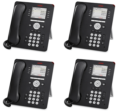 Avaya 9611G Global 4 Pack of Phones New