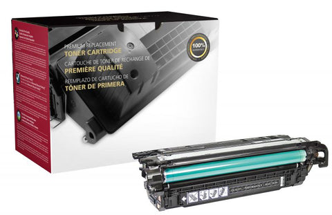 CIG High Yield Black Toner Cartridge for HP CE260X (HP 649X)