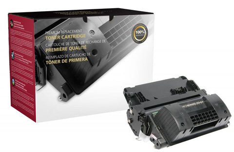 CIG Extended Yield Black Toner Cartridge for HP CE390X (HP 90X)